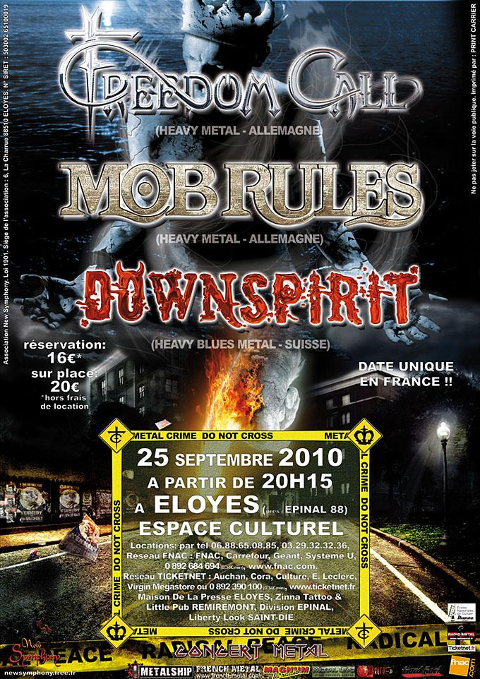 Mob Rules affiche